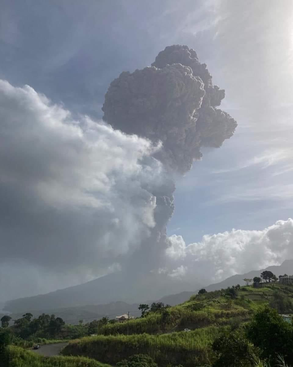 La Soufriere Eruption – April 2021